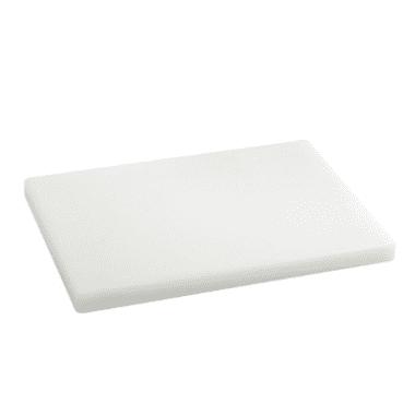 Tabla de cortar polietileno blanca
